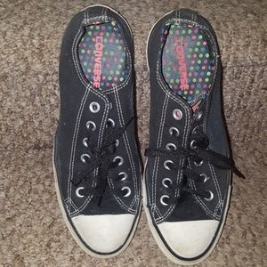 CONVERSE ALL STARS MULTI COLOR DOTS SHOES SNEAKERS